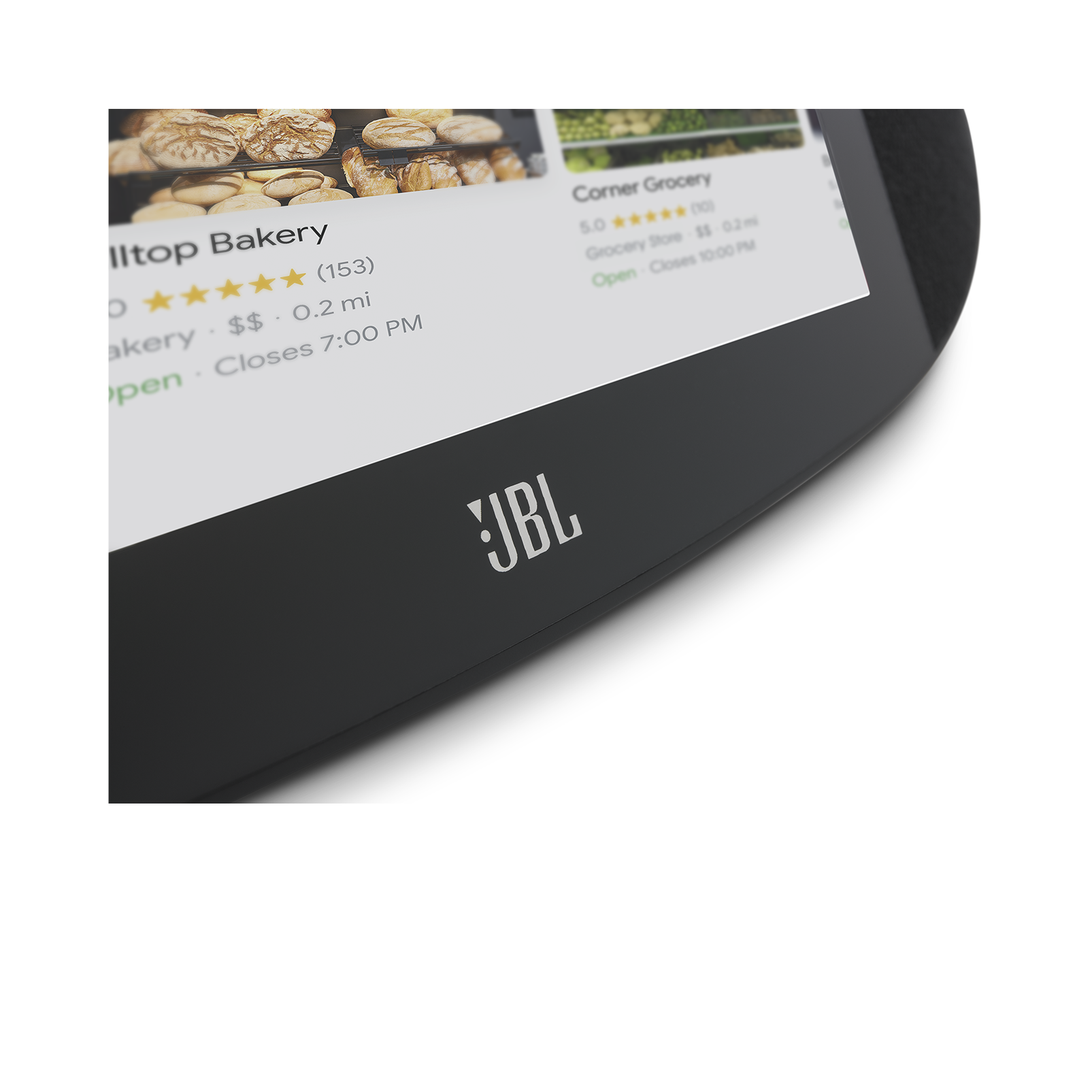 JBL LINK VIEW - Black - JBL legendary sound in a Smart Display with the Google Assistant. - Detailshot 2