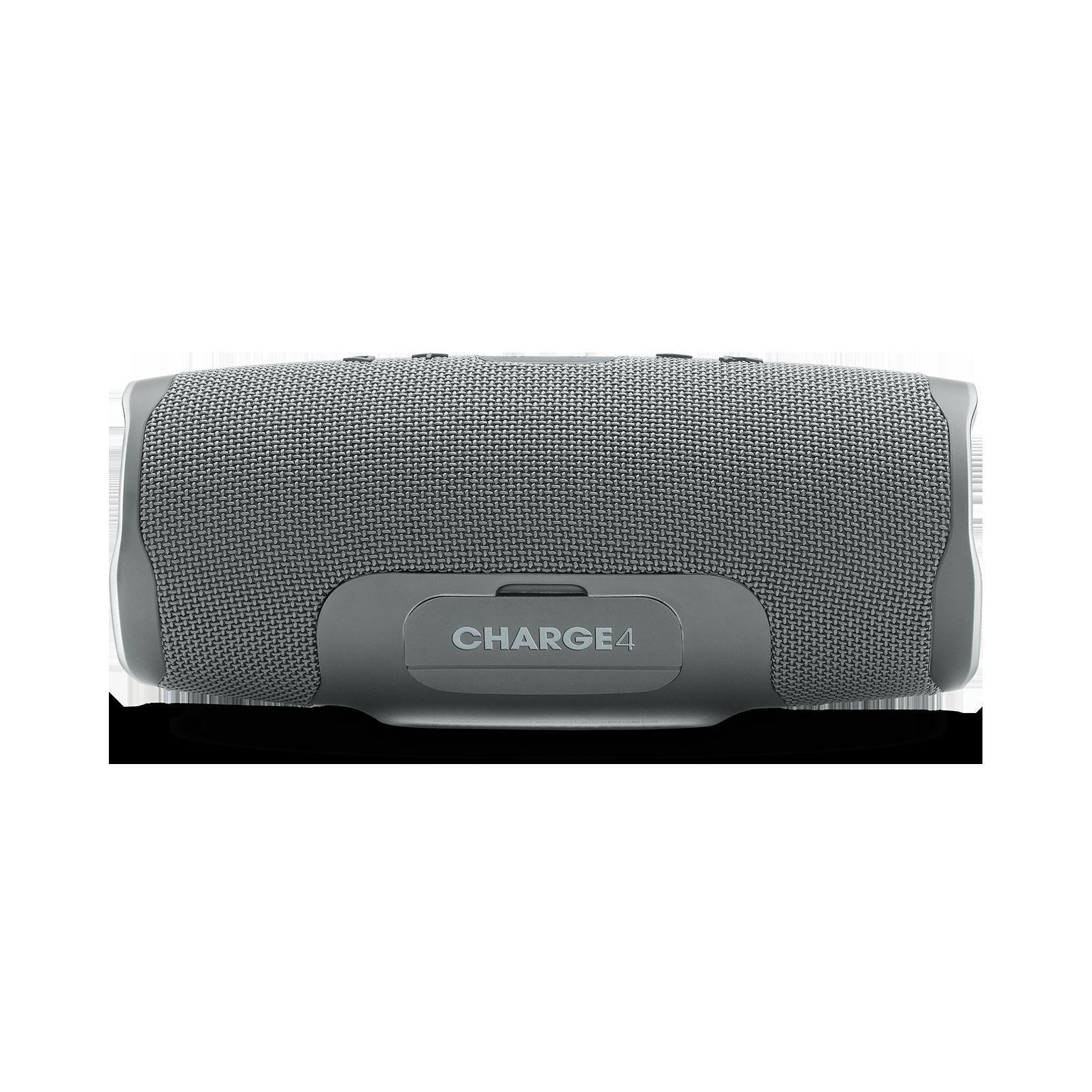 JBL Charge 4 - Grey - Portable Bluetooth speaker - Back