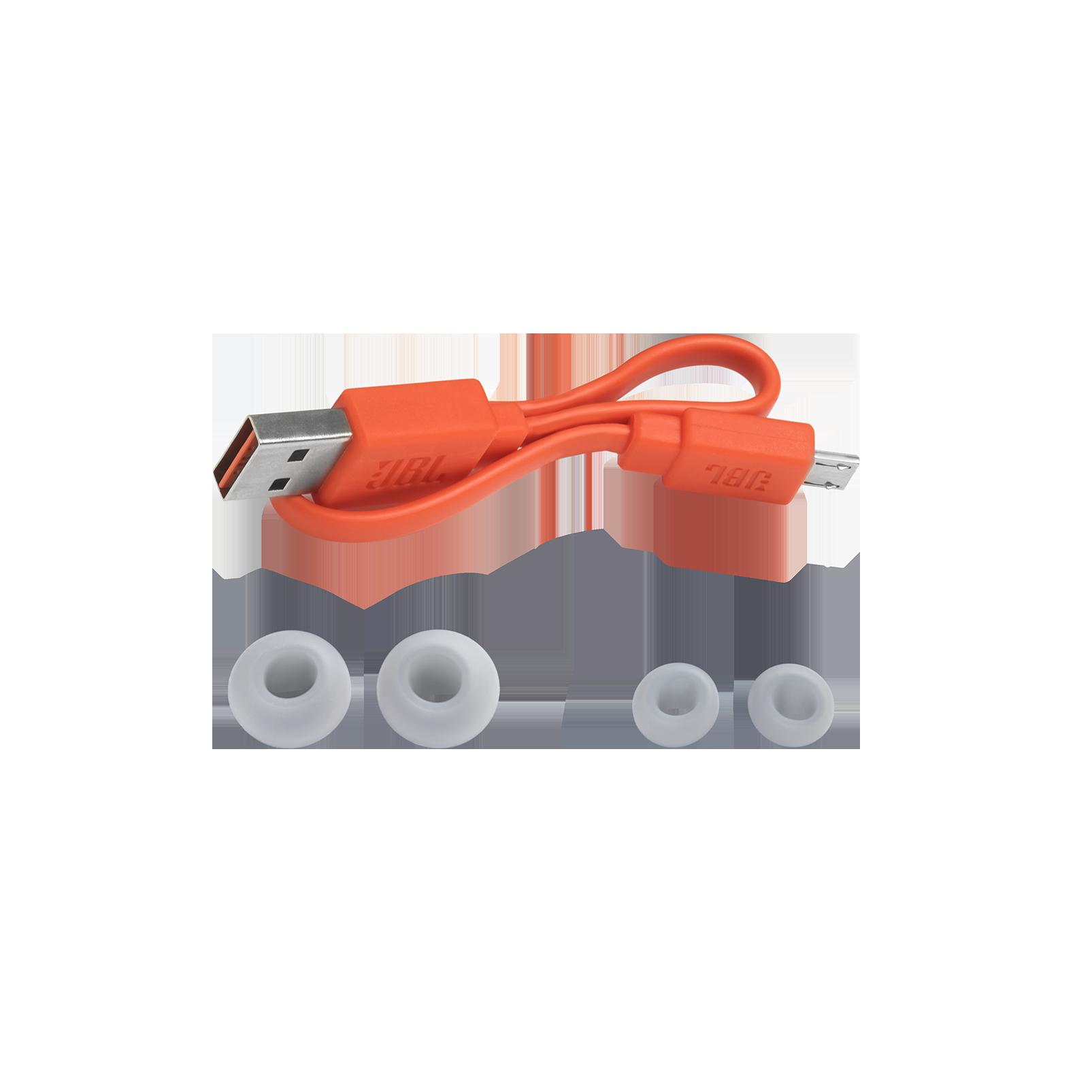 JBL Endurance PEAK - Blue - Waterproof True Wireless In-Ear Sport Headphones - Detailshot 4